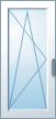 Jednokřídlé balkonové, otevíravé-sklopné (OS)