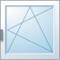 Jednokřídlé otevíravé - sklopné (OS)